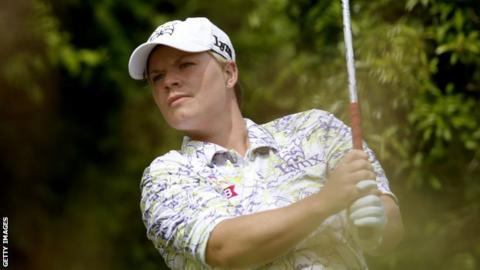 Welsh golfer Lydia Hall