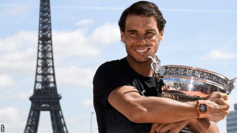 Rafael Nadal wins French Open title for 10th time