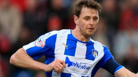 Chris Porter's 16 League Two goals for Colchester last season was his best haul in a decade