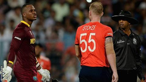 Ben Stokes and Marlon Samuels have clashed on several occasions