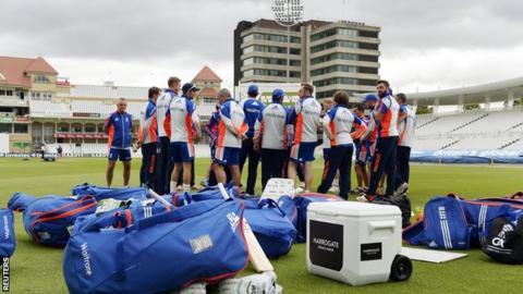 England preparing at Trent Bridge