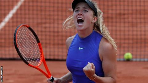 Ostapenko powers into French Open final