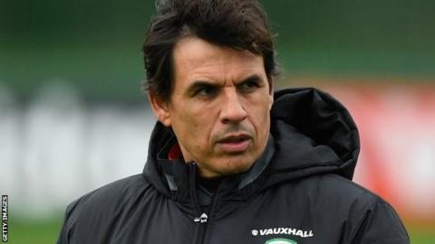 Wales boss Chris Coleman laughs off Crystal Palace link
