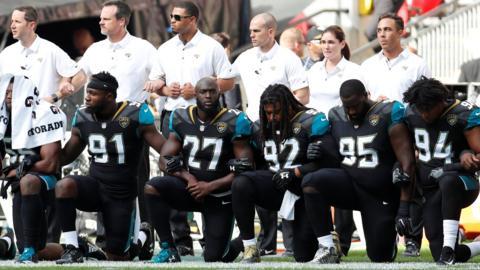 Jacksonville Jaguars players