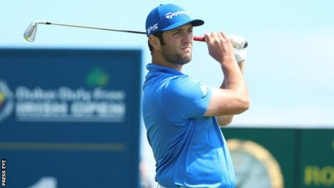 Spaniard Jon Rahm is aiming to become the fourth Spanish winner of the Irish Open