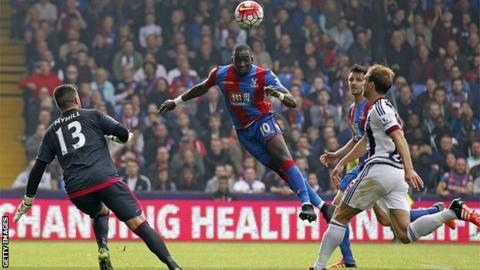 Yannick Bolasie opened the scoring when Palace won the reverse fixture 2-0.