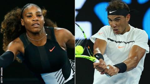 Williams and Nadal