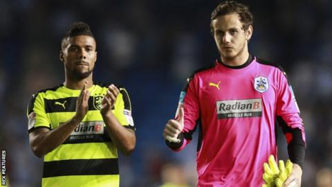 Elias Kachunga and Danny Ward