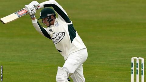 Worcestershire batsman Joe Clarke has now passed fifty four times in seven Championship matches this season