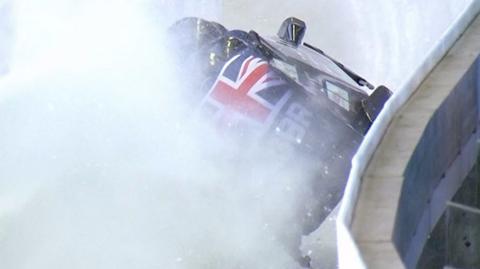GB crash out of world 4-man bob