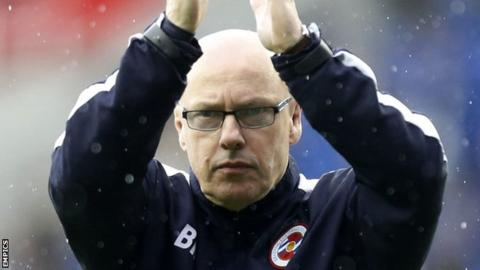 Reading manager Brian McDermott
