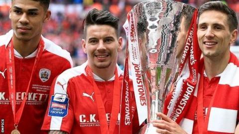 Barnsley win JPT Trophy in 2016