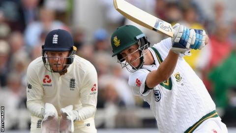 England v South Africa: Philander and Morris thwart England