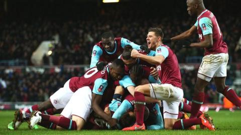 West Ham 2-1 Liverpool (aet) highlights