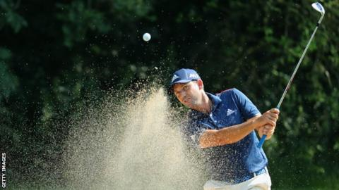 Garcia two off lead in Germany as Ormsby sets pace