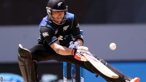 New Zealand captain Brendon McCullum