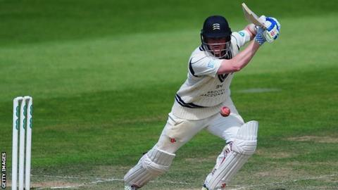 Middlesex and England batsman Sam Robson passed 50 in the Championship for the sixth time this summer