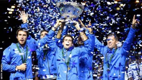 Argentina beat Croatia in the 2016 Davis Cup final