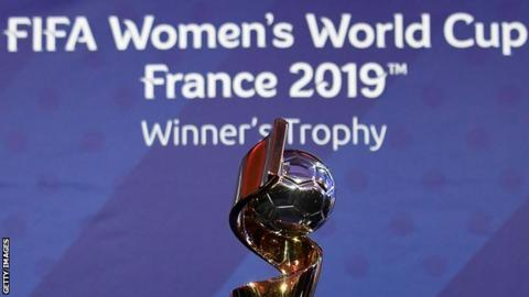 The Women's World Cup and 2019 logo