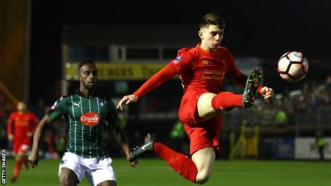 Wales give Liverpool's Ben Woodburn first senior call-up at age of 17