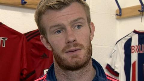 West Bromwich Albion's Chris Brunt