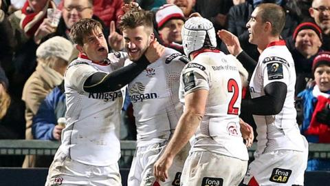 Ulster finished the year on a high with four wins in December, including a 38-0 home win over Toulouse, after a disappointing end to their 2014-15 campaign as they were edged out by Glasgow in their Pro12 semi-final at Scotstoun