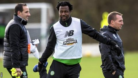 Brian McLean teams up with Efe Ambrose at Easter Road