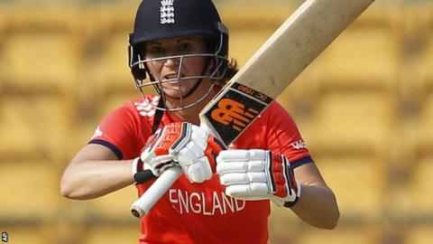 England women captain Charlotte Edwards