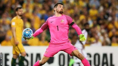 Australia goalkeeper Mathew Ryan set for Seagulls switch