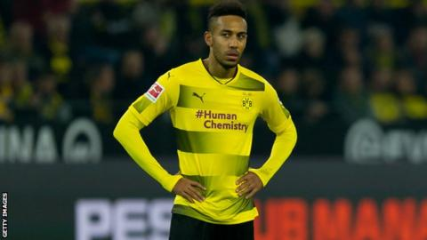 Pierre-Emerick Aubameyang Held out of Dortmund Team for 'Disciplinary Reasons'