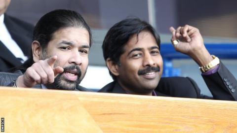 Balaji Rao (left) and Venkatesh Rao