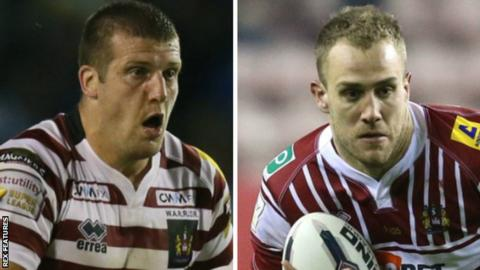 Tony Clubb and Lee Mossop