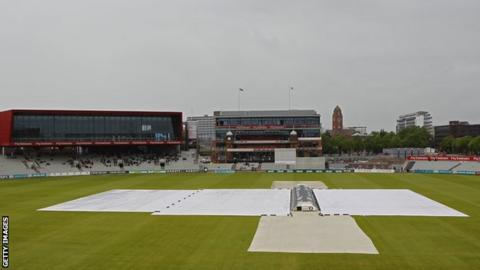 Old Trafford Rain