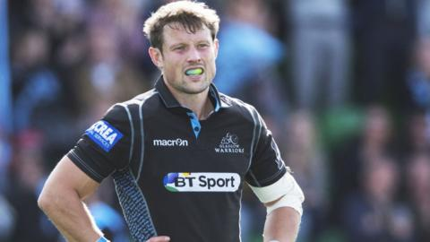 Peter Horne has signed a new three-year deal with Glasgow Warriors