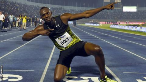 Bolt to run 100m and 4x100m in London and then retire