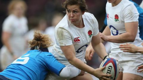 England beat Italy in Women's Six Nations
