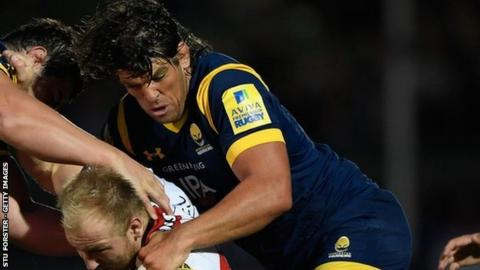 Former Ireland and Lions lock forward Donncha O'Callaghan has scored one try in 42 appearances for the Warriors