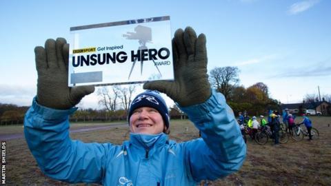 Rachael Halifax - BBC Scotland's 2016 Unsung Hero