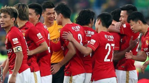 Phil Scolari's Guangzhou Evergrande win the 2015 Chinese Super League