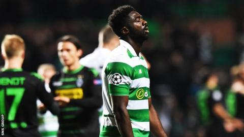 Mistakes from Kolo Toure led to both of Borussia Monchengladbach's goals at Celtic Park