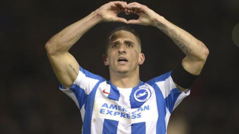 Brighton winger Anthony Knockaert