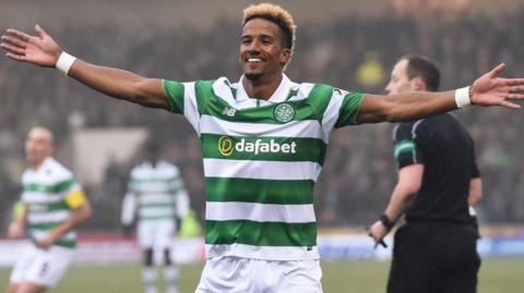 Scott Sinclair opened the scoring for Celtic