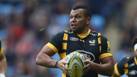 Wasps' Kurtley Beale