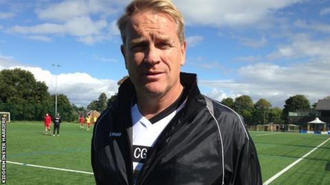Colin Gordon (footballer) Kidderminster Harriers Colin Gordon does not want coachs job BBC