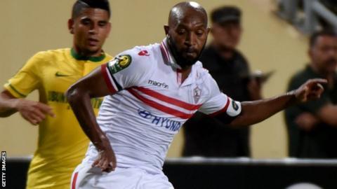 CAF Champions LeagueZamalek seem safe, Sundowns, ZESCO battle on