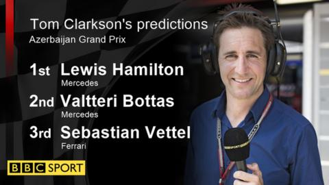 Tom Clarkson's race predictions