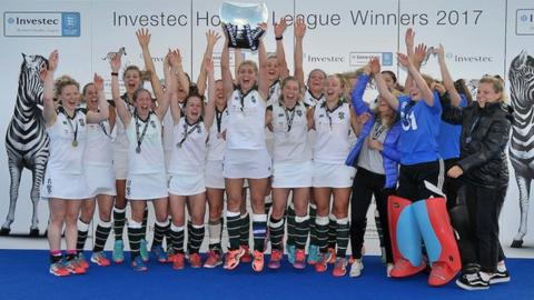 Surbiton women's hockey team