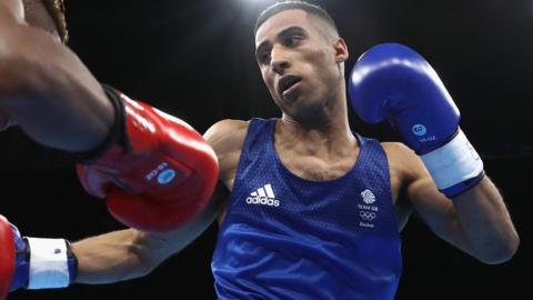 Galal Yafai of Great Britain