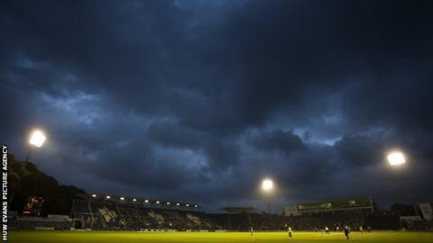 Glamorgan home ground shot