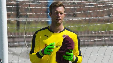 Viktor Noring on trial with Hearts